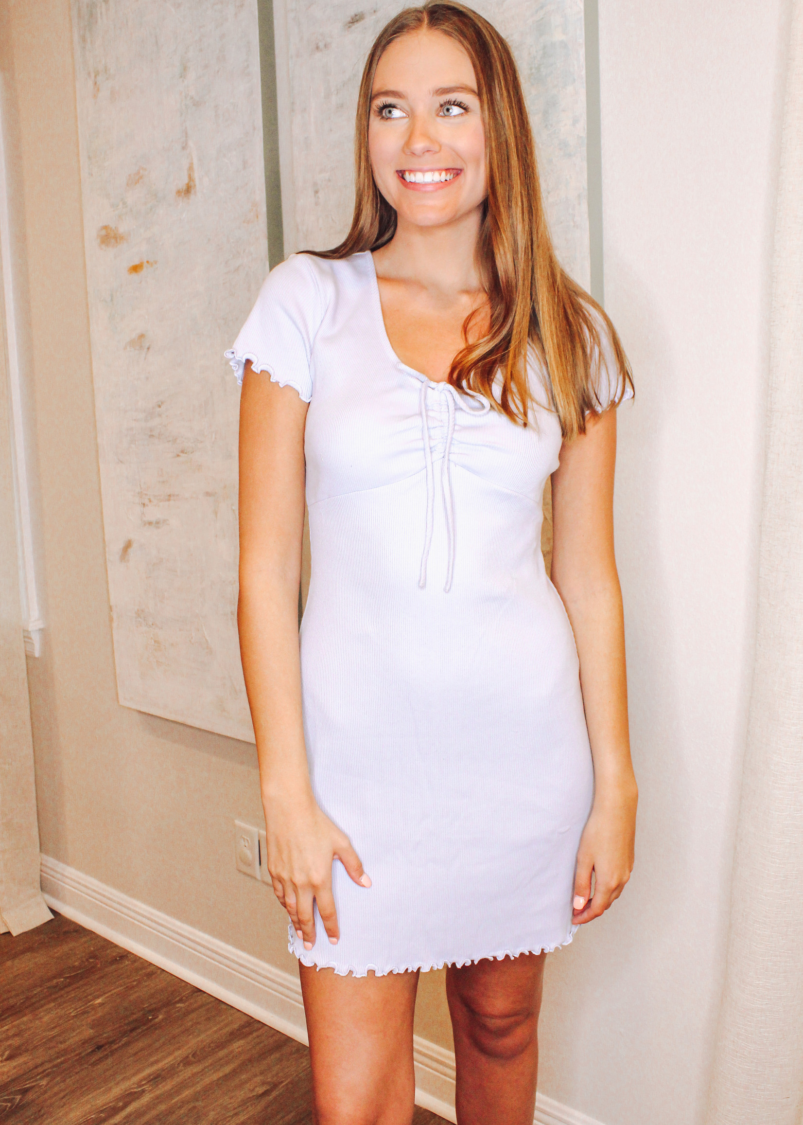 Ribbed Bodycon Day Dress
