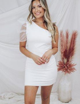 One Shoulder Summer Party Dress
