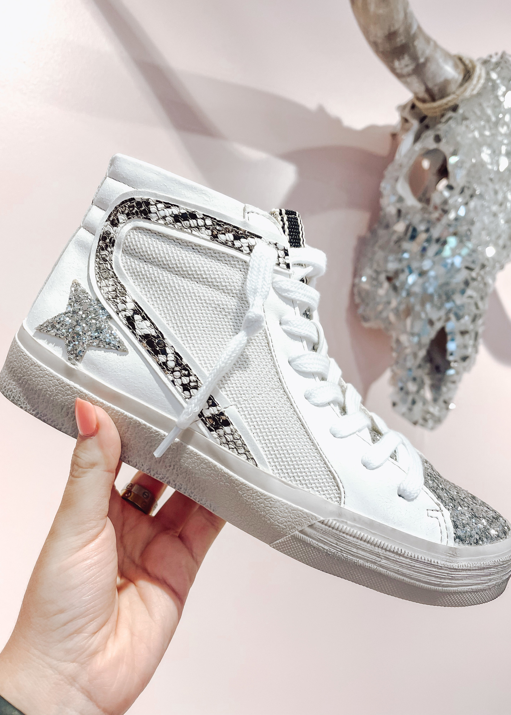 Roxanne High Top Shoe
