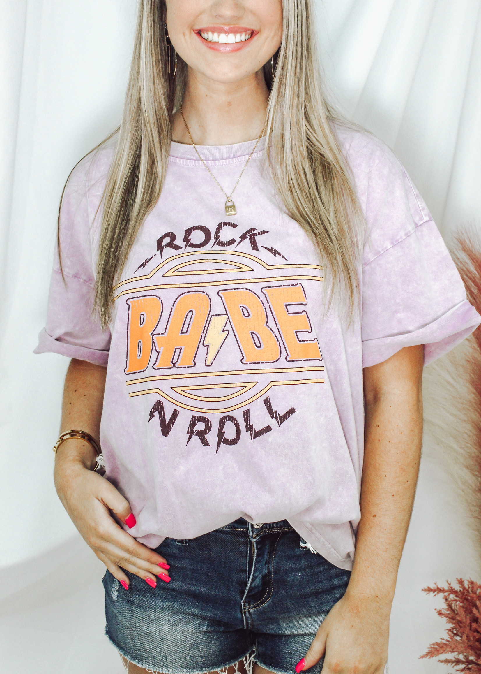 Rock N Roll Babe Graphic Tee