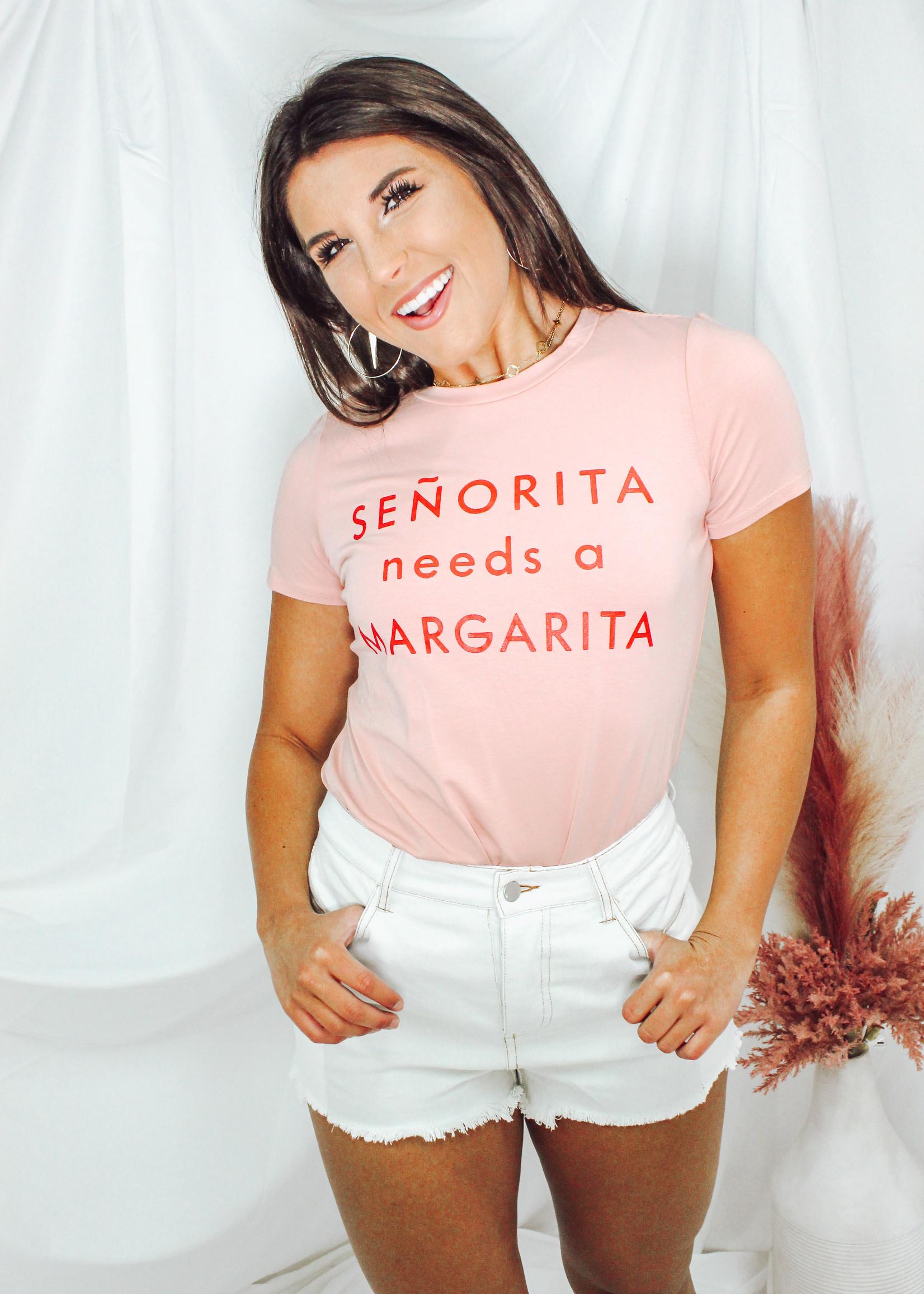 Senorita Margarita Graphic Tee