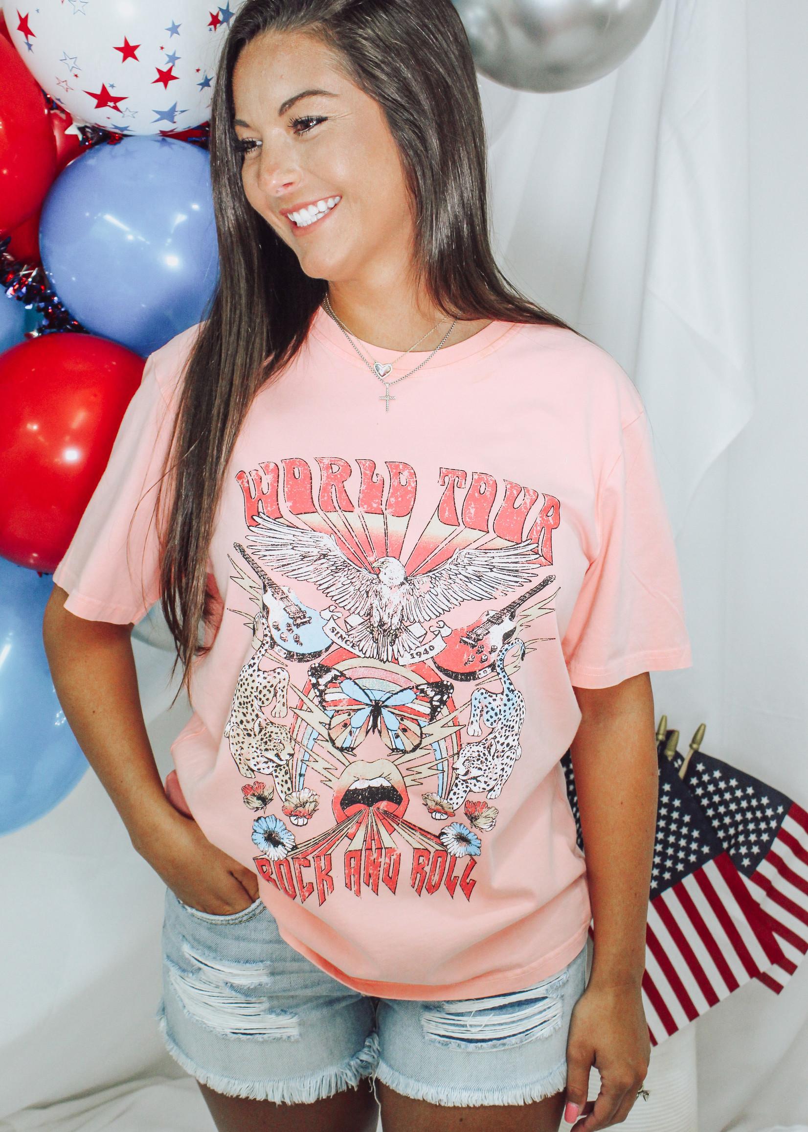 World Tour Vintage T-Shirt