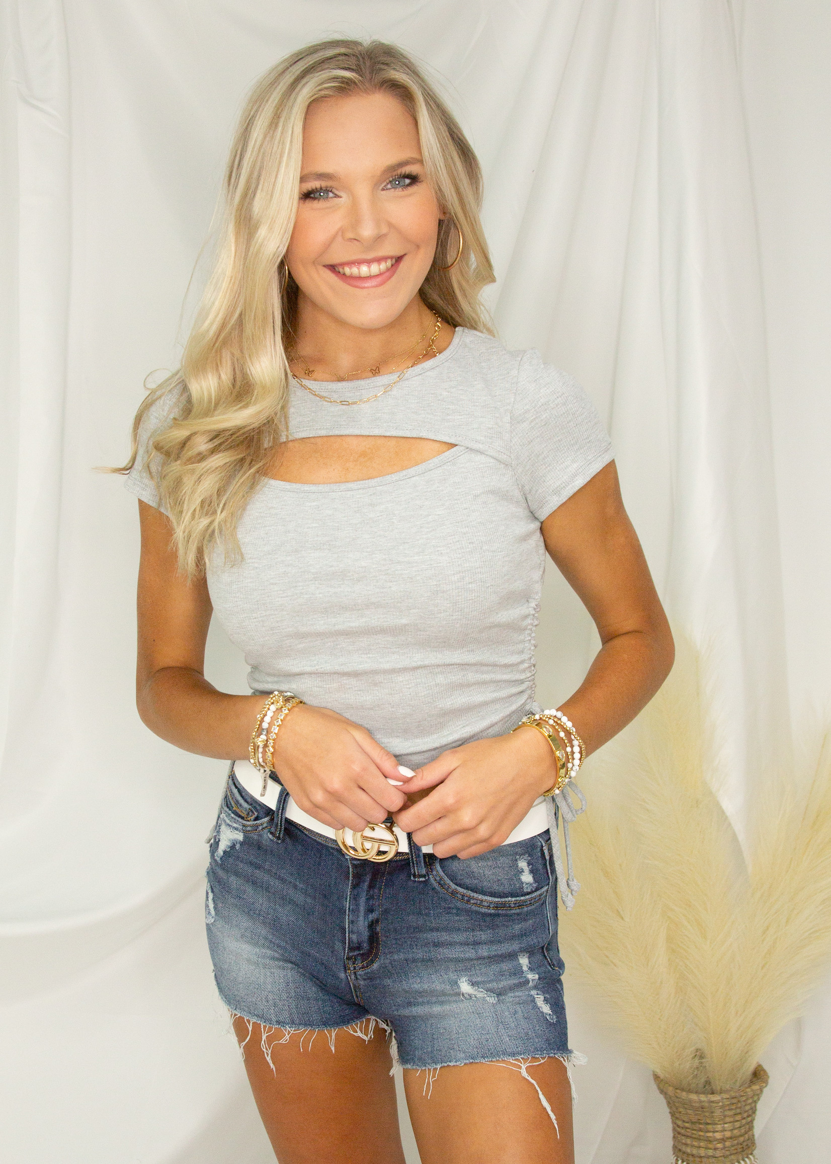 Amy Cut Out Top