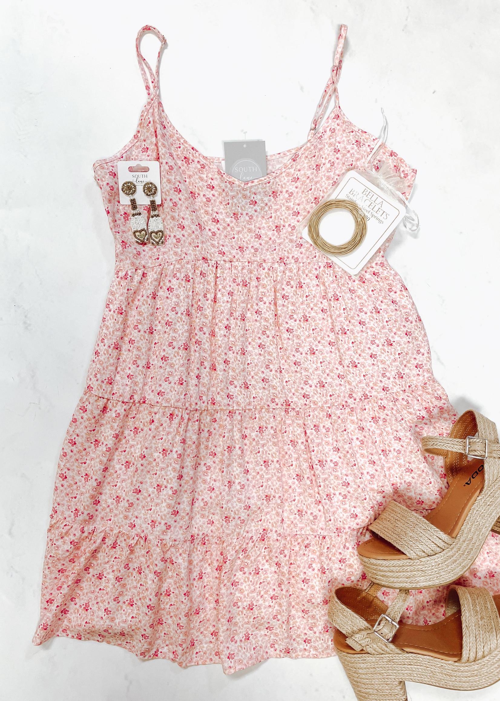 Tiered Babydoll Floral Mini Dress