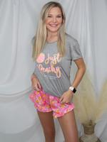 Just Peachy Pajama Set