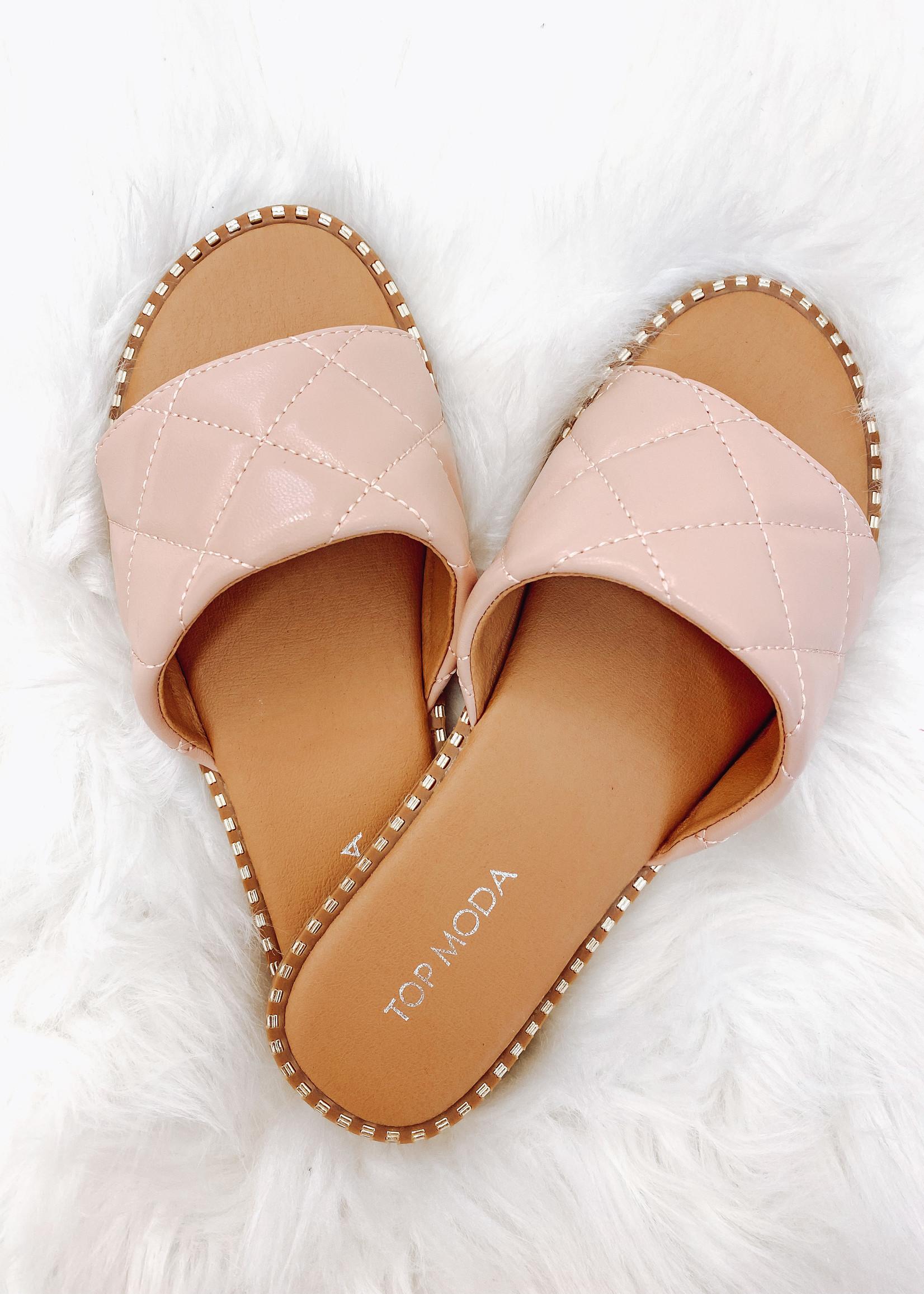 The Mich Peep Toe Sandal