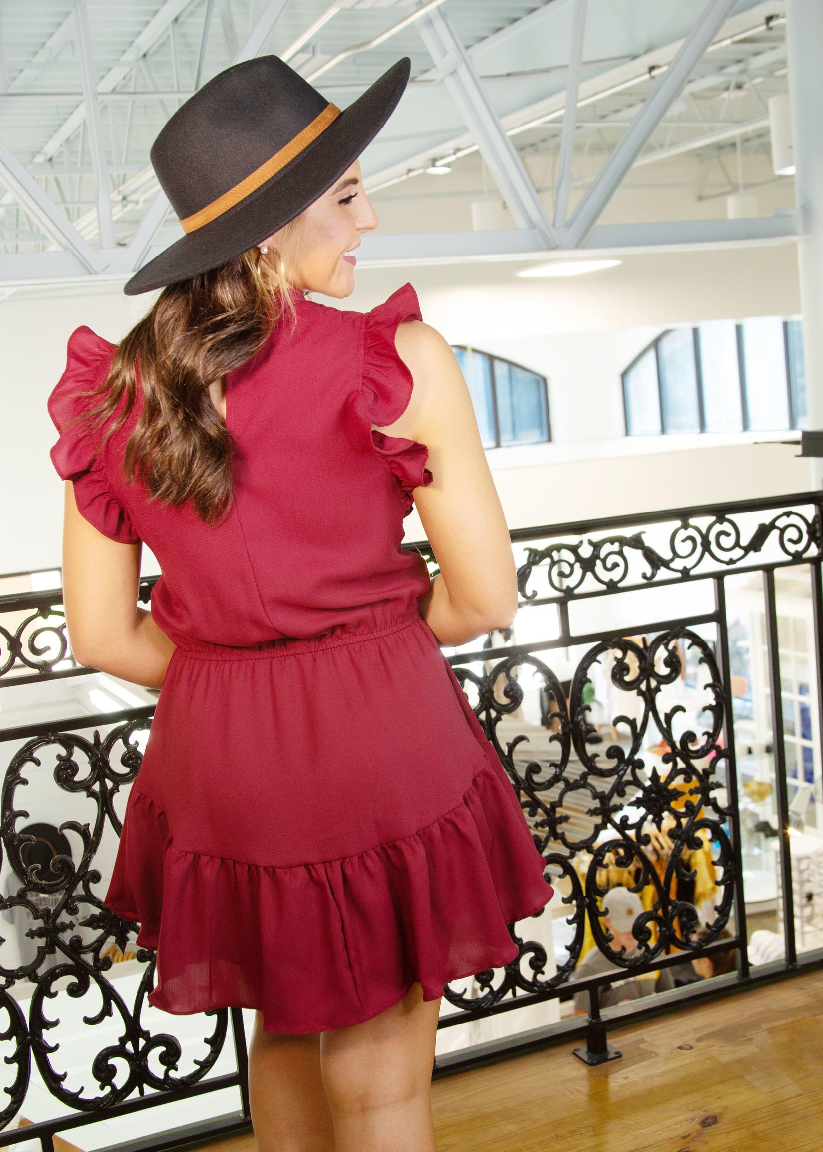 Cap Sleeve Tiered Dress