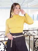 Poplin Pleated Mini Skirt
