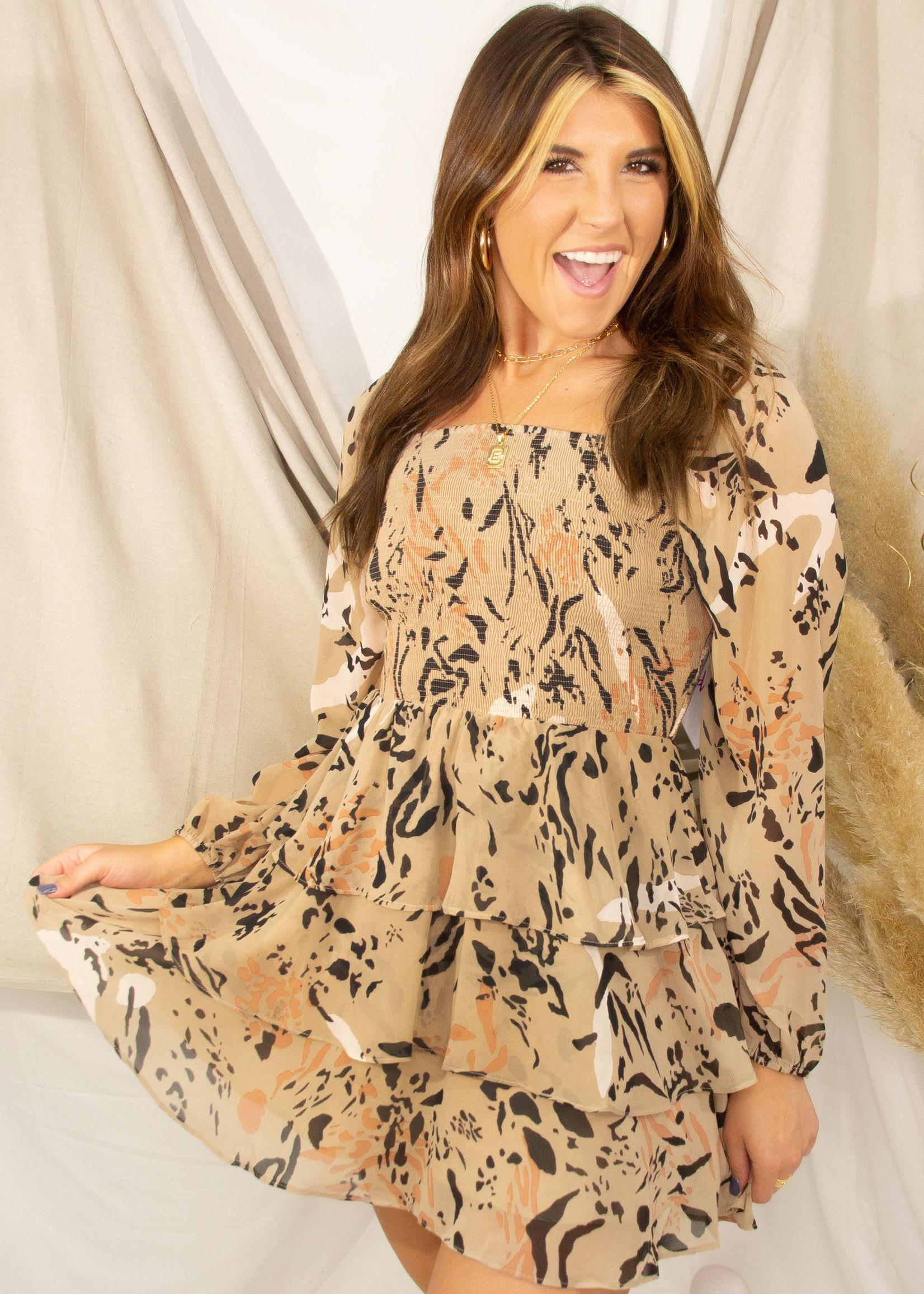 Ruby Cat Scratch Dress
