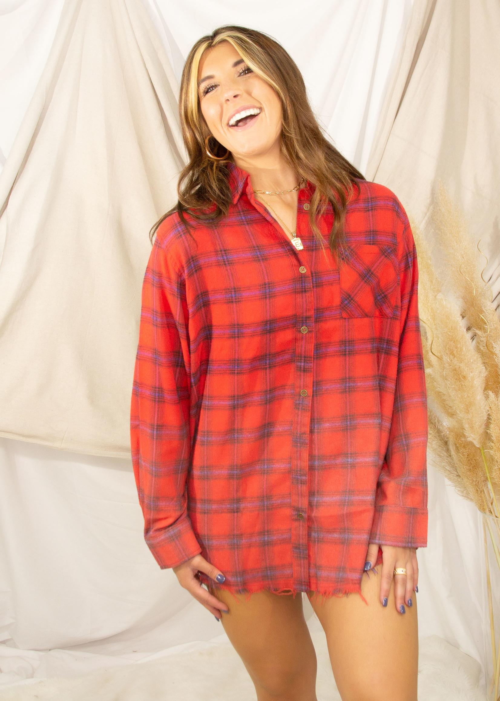 Kayla Wash Long Sleeve Button Up Shirt