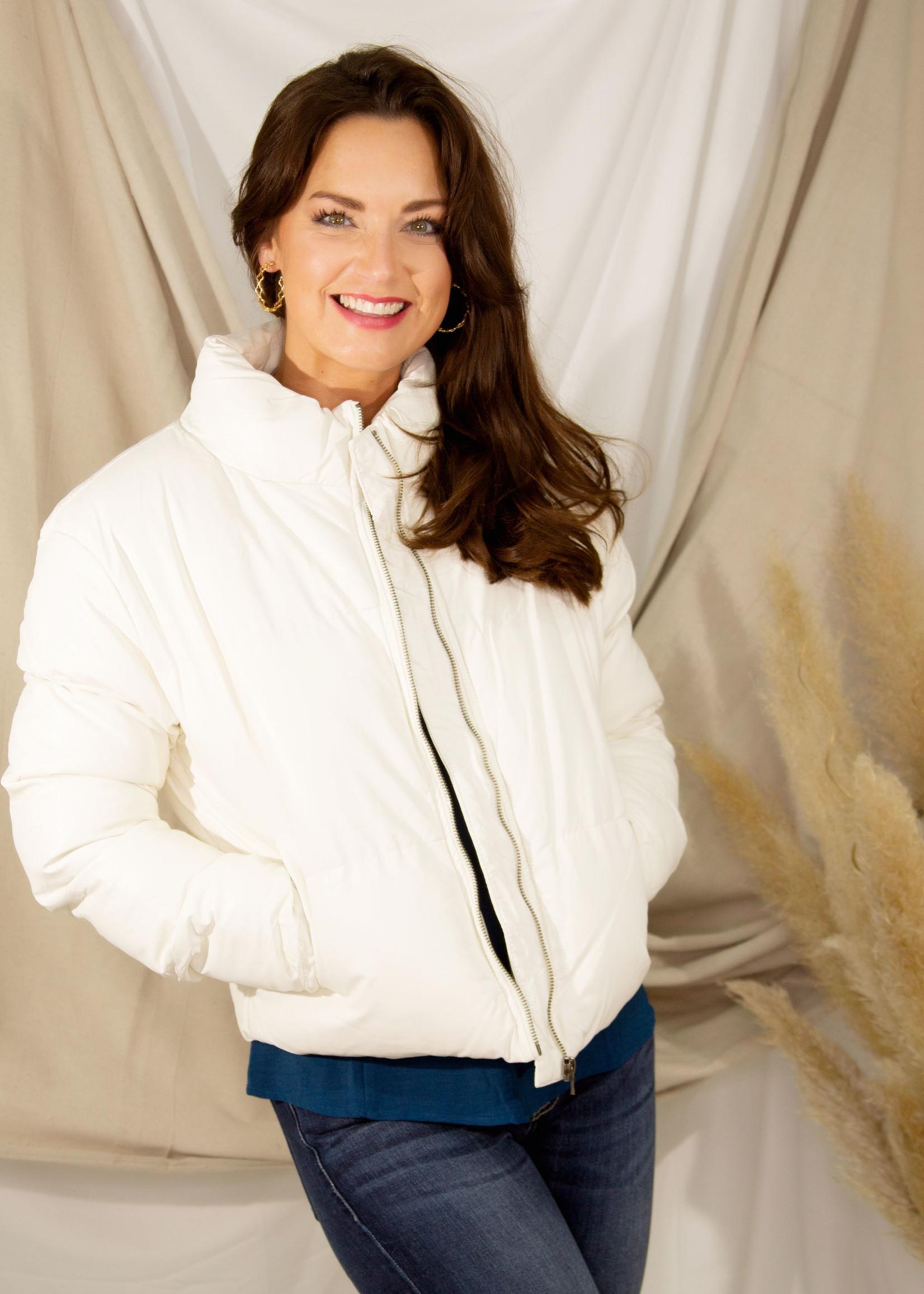 Ice Ice Baby Puffer Jacket