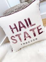 College Throw Pillow