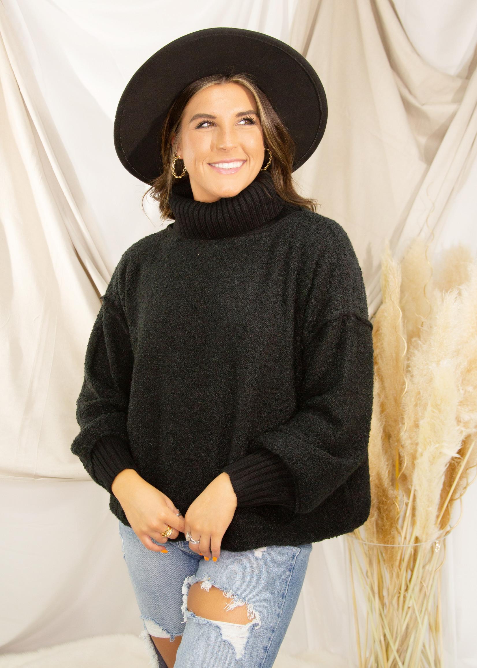Fuzzy Oversize Sweater