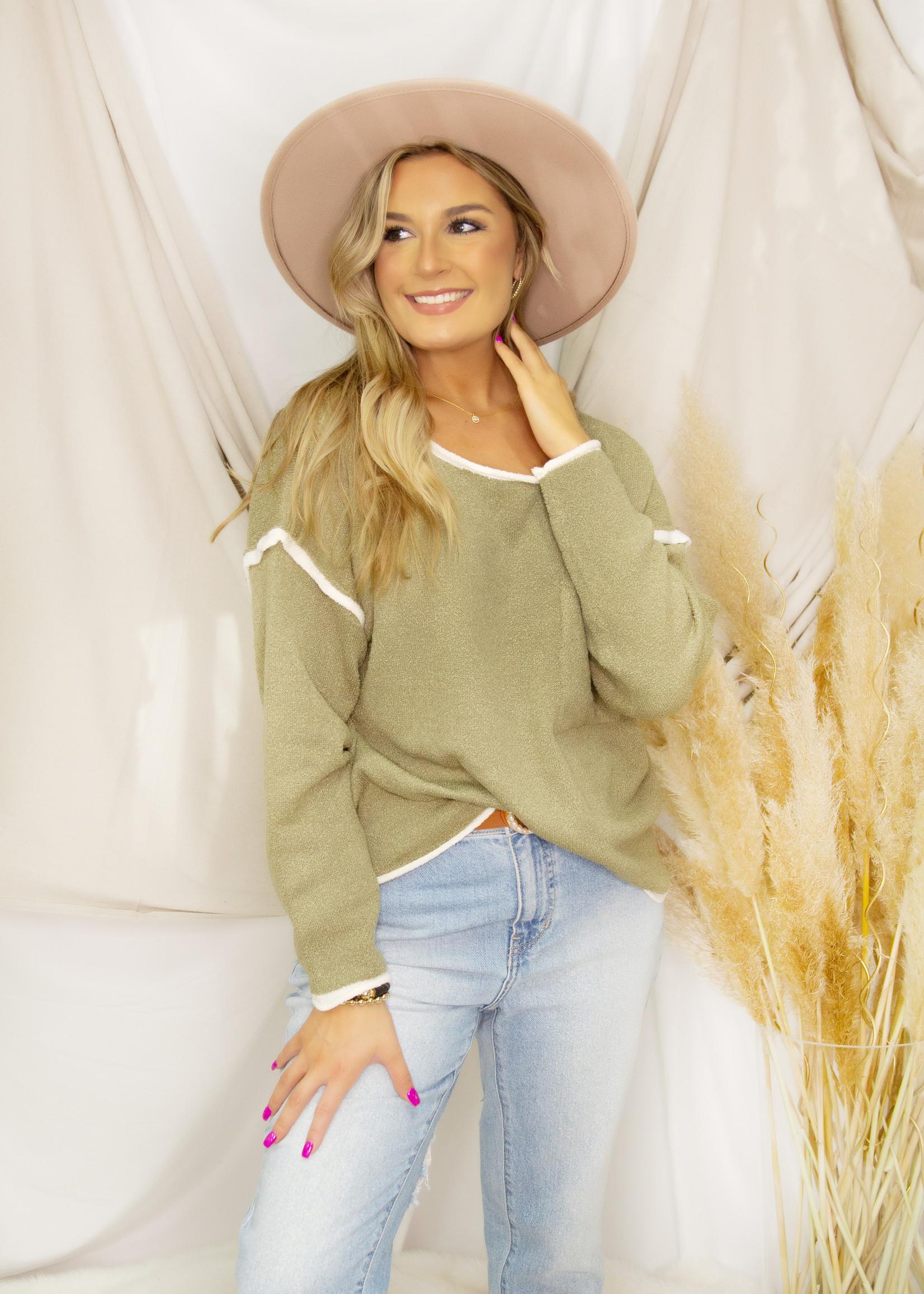 Lightweight Pocket Sweater