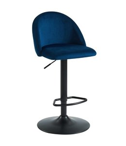 WHi Sataro Air Lift Stool in Blue