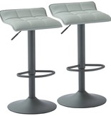WHi Comet Gas Lift Stool in Grey