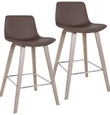 "!nspire Durant 26"" Counter Stool in Brown"