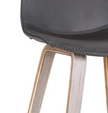 """!nspire Durant 26"""" Counter Stool in Charcoal"""