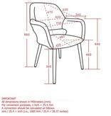 WHi Miranda Accent Chair in Grey