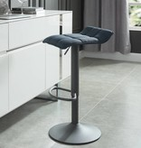 WHi Pluto Gas Lift Stool in Blue