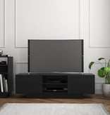 Nexera Galleri TV Stand, 60-inch, Black
