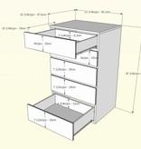 Nexera Ens. 4 mcx lit simple (39''), Blanc, Malaga