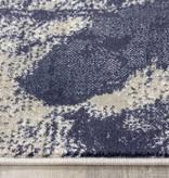 Kalora Alaska Grey Blue Paint Splatter Rug 7'10'' x 10'6''
