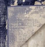 """Kalora Alida Blue/Cream Distressed Rug 8'0"""" x 10'6"""""""