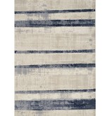 """Kalora Alida Faded Blue/Cream Stripes Rug 5'1"""" x 7'7"""""""