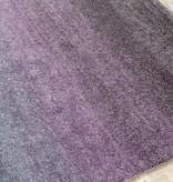 Kalora Ashbury Grey Purple Banded Blend Rug 6'7'' x 9'6''