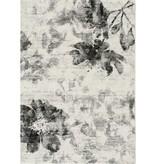 Kalora Breeze Cream Grey Faded Flowers Rug 5'3'' x 7'7''