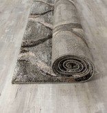 Kalora Breeze Grey Brown Blended Ogee Rug 5'3'' x 7'7''