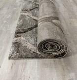 Kalora Breeze Grey Brown Blended Ogee Rug 7'10'' x 10'6''