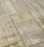 "Kalora Cathedral Cream/Grey Distressed Patchwork Rug 7'6"" x 10'10"""