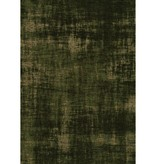Kalora Cathedral Green Distressed Hatching Rug 7'10'' x 10'10''