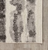 "Kalora Focus Grey Marker Stripes Rug 6'7"" x 9'6"""