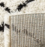 Kalora Maroq Black/White Diamonds Soft Touch Rug 6'7'' x 9'6''