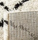 Kalora Tapis Maroq, Diamants noir/blanc doux au touché 6'7'' x 9'6''