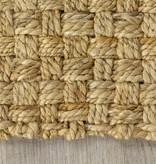 Kalora Naturals Jute Beige Basketweave Rug 5'3'' x 7'7''