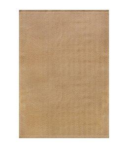 Kalora Tapis Naturals, Jute à chevrons beige 5'3'' x 7'7''
