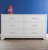 South Shore Fusion Dresser, Pure White