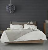 Nexera Neptune 2 pcs Queen Size Bedroom Set, Walnut & Charcoal