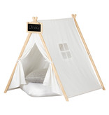 South Shore Sweedi Play Tent with Chalkboard, Organic Cotton and Pine
