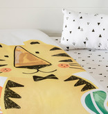 South Shore DreamIt 4-Piece Baby Bedding Baby Tiger, Black and White