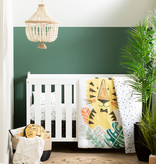 South Shore DreamIt 6-Piece Baby Bedding Baby Tiger, Black and White