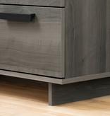 South Shore Cavalleri 6-Drawer Double Dresser, Gray Maple