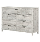 South Shore Lionel 9-Drawer Double Dresser, Seaside Pine