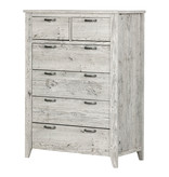 South Shore Lionel 6-drawer lingerie chest, Seaside Pine