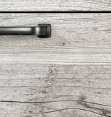 South Shore Table de chevet 2 tiroirs, Pin bord de mer, collection Lionel