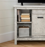 South Shore Exhibit Corner TV Stand, for TVs up to 42'', Seaside Pine